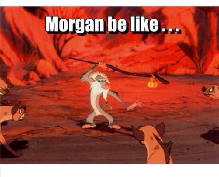 Morgan. The Walking Dead.