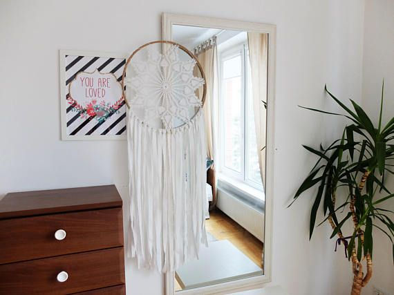 SALE Extra Large Dream Catcher For Wedding Or Nursery Decor Etsy Stunning Extra Large Dream Catchers For Sale