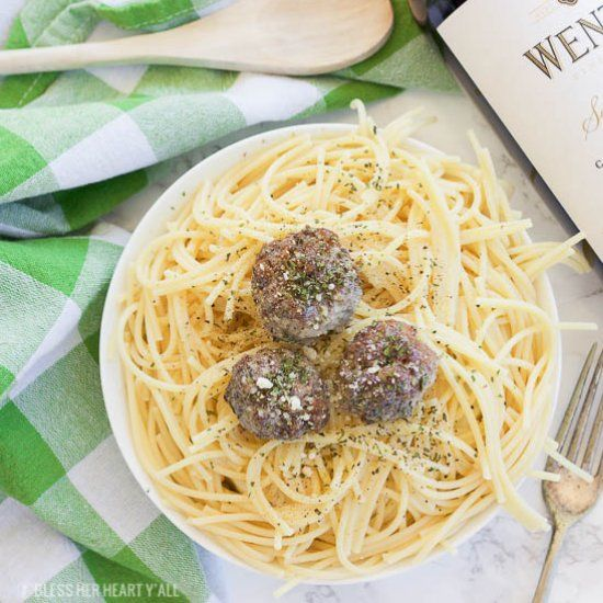 Simple Oven Baked Paleo Meatballs
