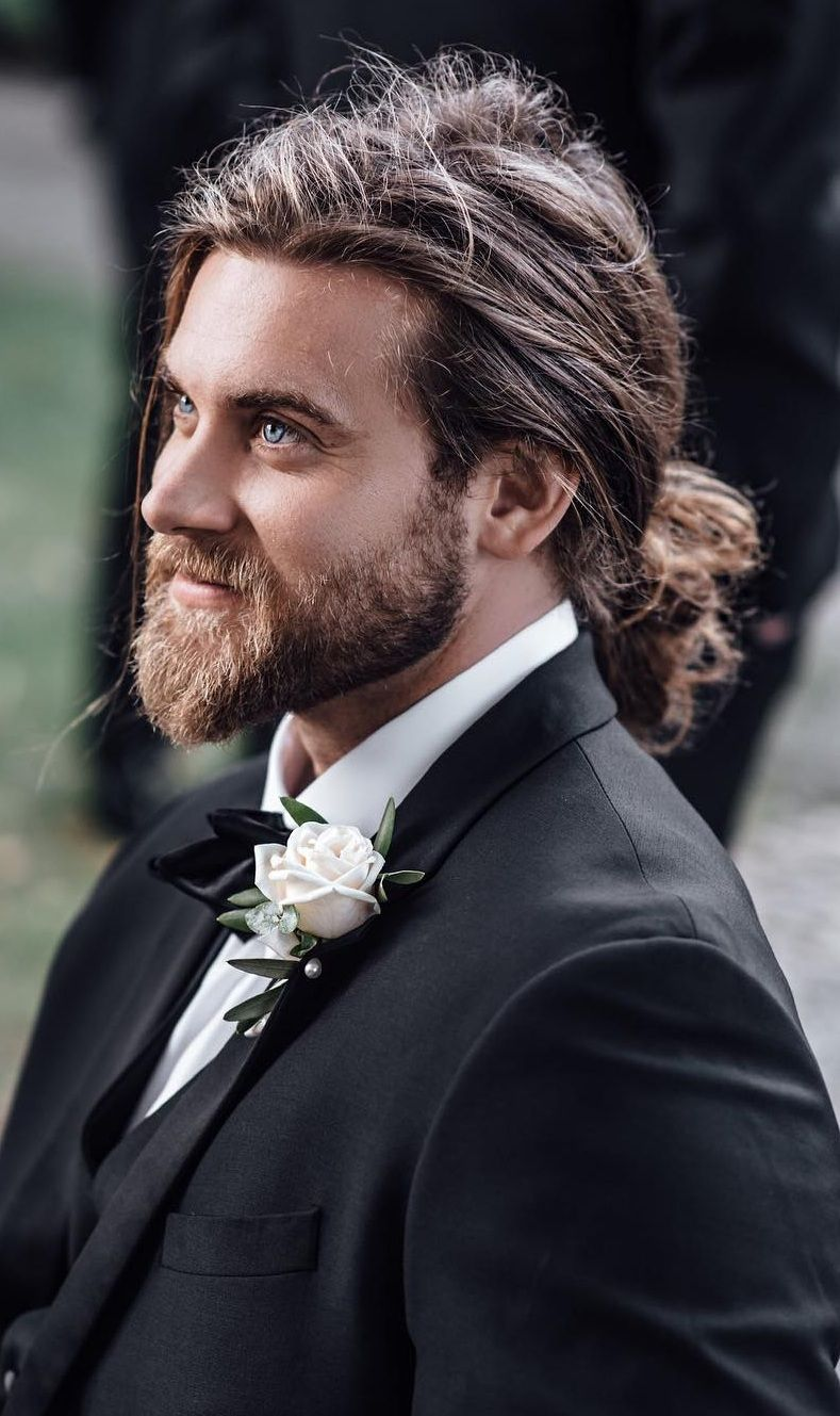 21 Sexiest Long Hairstyles For Men To Rock In 2020 Long Hair Styles Men Long Hair Ponytail Mens Ponytail Hairstyles