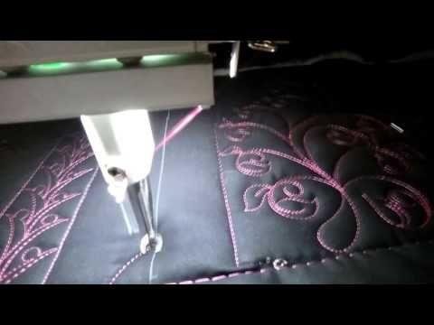 FMQ201 Video #29 TBNamed - YouTube | FMQ201 -- Freemotion longarm ... : long arm quilting videos - Adamdwight.com