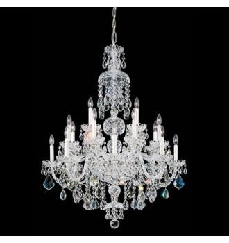 Schonbek Olde World 25-Light Swarovski Crystal Chandelier