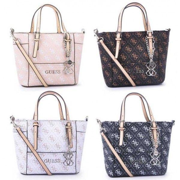 Delaney 4G Logo Small Mini Tote Handbags With Crossbody Strap 4 Colors Bags NWT