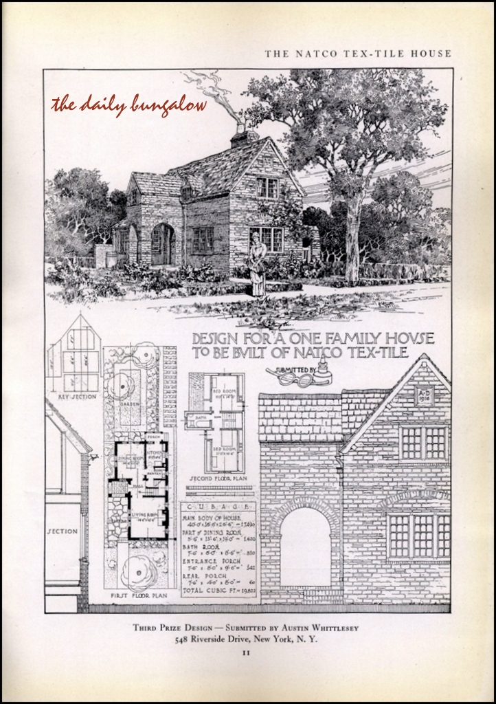 1917 Natco Tex Tile House Different House Styles Bungalow Design The Borrowers