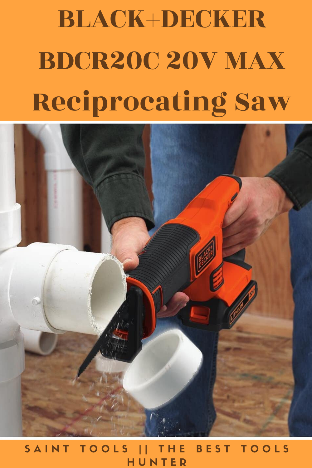 Black Decker Bdcr20b 20v Max Lithium Reciprocating Saw Battery And Charger Not Included Amazo Cordless Reciprocating Saw Reciprocating Saw Black Decker