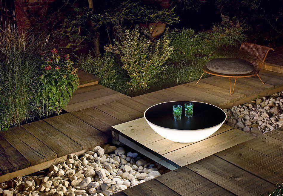 Modern Solar Lamp Table Combo By Foscarini Luces Solares Jardin