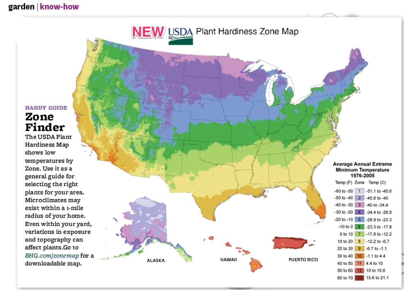 New Planting Zones