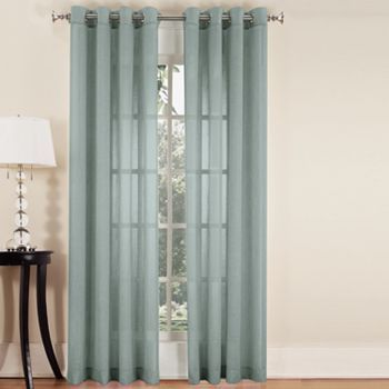 Charmant ... Curtains For The Living Room! SONOMA Life + Style Ayden Linen Blend  Window Panel   52u0027u0027 X 84u0027u0027