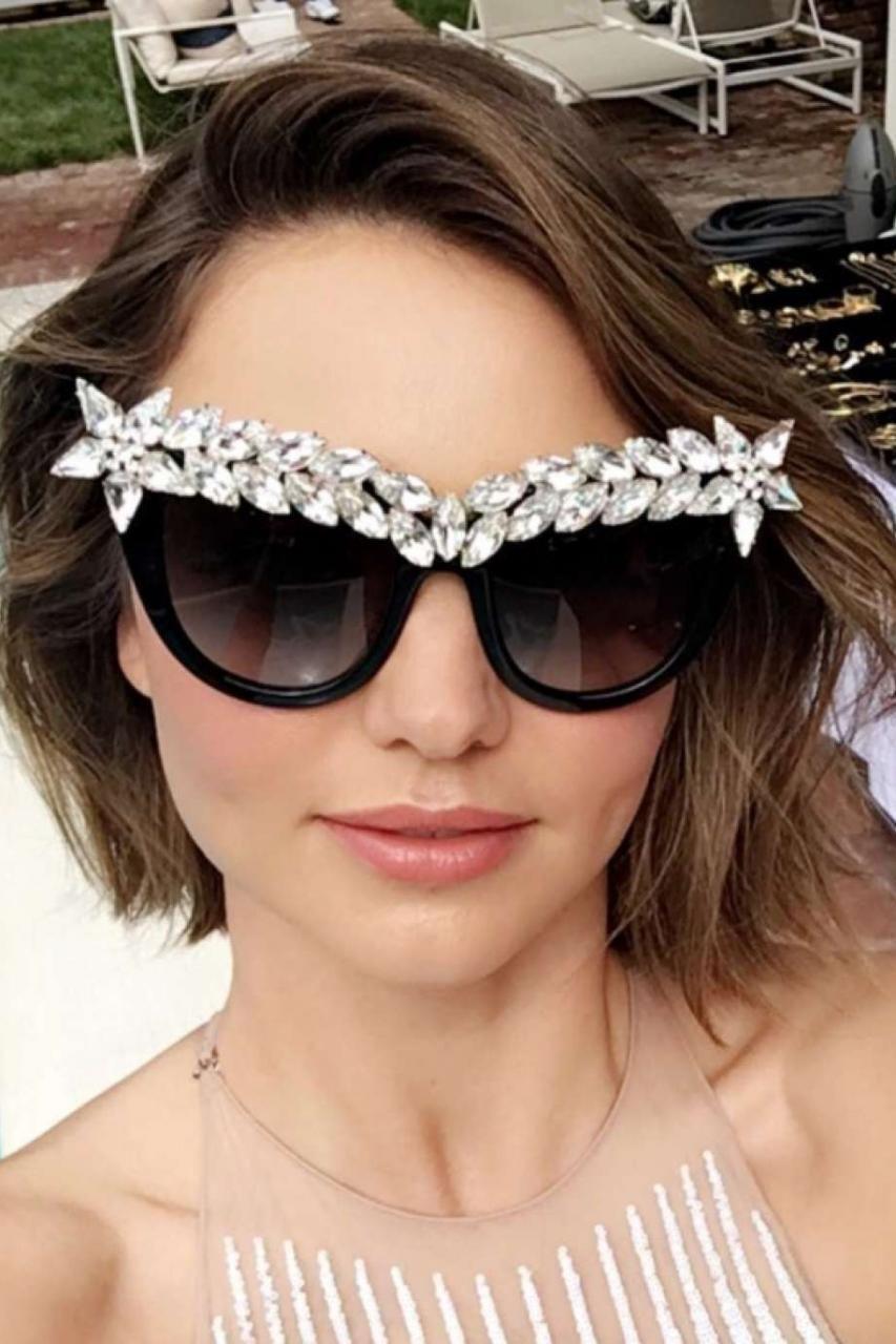 Miranda Kerr wearing Anna-Karin Karlsson Decadence Sunglasses