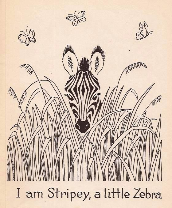 Berta and Elmer Hader Today I revisited three early titles illustrated by Berta and Elmer Hader.   Stripey, A Little Zebra, Little Elephant, and A Monkey Tale.   ...