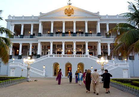 Taj Falaknuma Palace, Hyderabad, India | Top 10 hotels, Hotel, Islamic  architecture