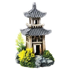 Top Fin Pagoda Aquarium Ornament Ornaments Petsmart Fish Tank Accessories Tropical Fish Tanks Aquarium Ornaments