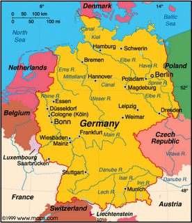 Map Of The Rivers Of Germany Passport Germany Unit Study - Rivers in germany