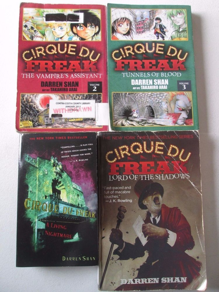 Cirque Du Freak Book 2