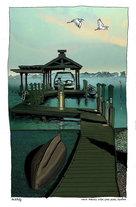 Florida bear lake deck small