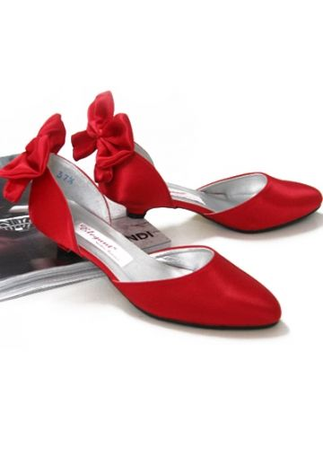 3 3 3 Red Wedding Shoes Red Wedding Shoes Flats Satin Wedding Shoes