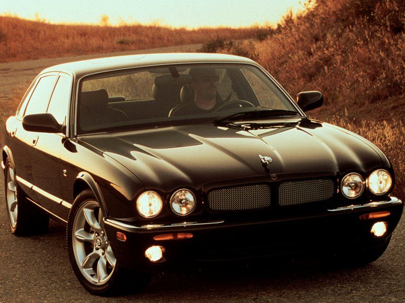 2001 Jaguar Xjr 3 Of These In Row Is How You Make An Entrance
