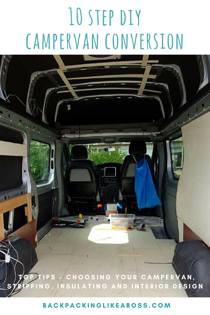 7bad61fec1 Changing a Van into a Campervan but don t know how to start  Check out my  Renault Trafic Campervan Conversion in 12 steps. this ultimate guide to your  DIY ...