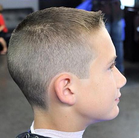 She Found A Good Barber Short Hair Cuts Pinterest Haircut - Haircut boy buzz