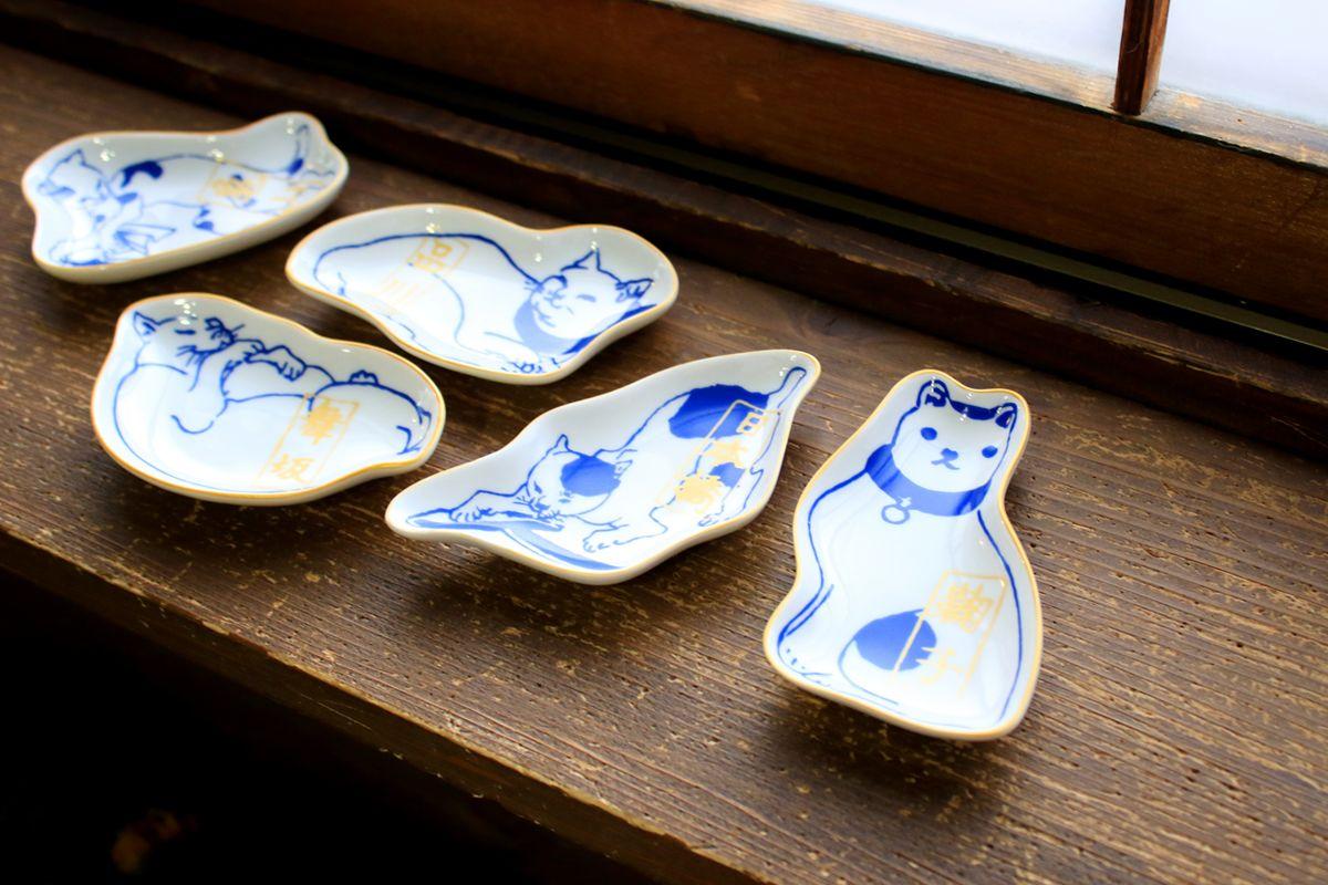 【楽天市場】豆皿(二本だし) 歌川国芳シリーズ 皿 雑貨:保護猫カフェ ネコリパブリック