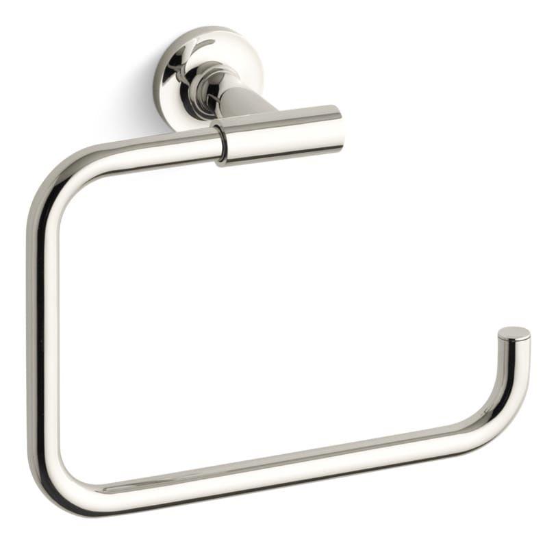 Kohler K 14441 Towel Rings Kohler Purist Polished Chrome