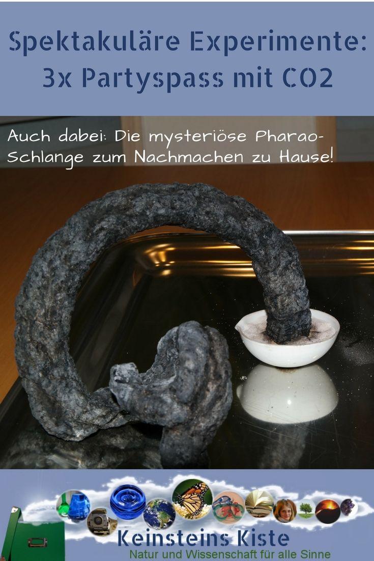 Photo of 3 mal Partyspass mit CO2 : Spektakuläre Experimente (nicht nur) zu Fasnacht und Karneval