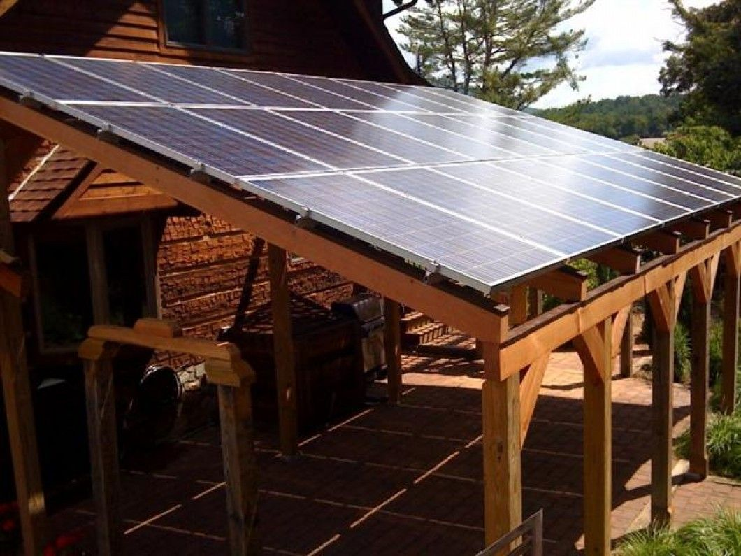 Custom Solar PV Canopy Design & Installation Solar