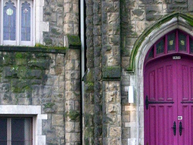 Purple Church Door Church Architecture Purple Door Purple