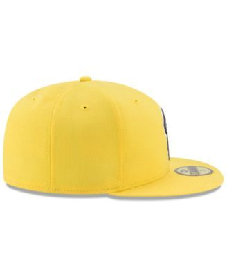 factory authentic 152cd 3bbed New Era Boys  Oakland Athletics Players Weekend 59FIFTY Fitted Cap - Yellow  6 5 8