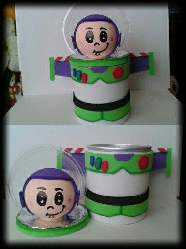Dulcero De Buzz Foamy Fiesta De Toy Story Cumpleaños De