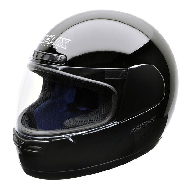 Casco de moto integral helix activy negro de chica  Anuncios de #segundamano #Malaga #España #motos