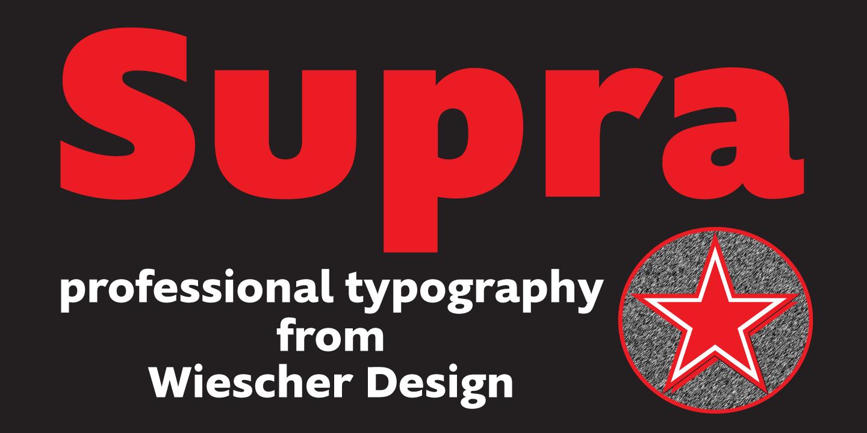 Supra from Wiescher Design