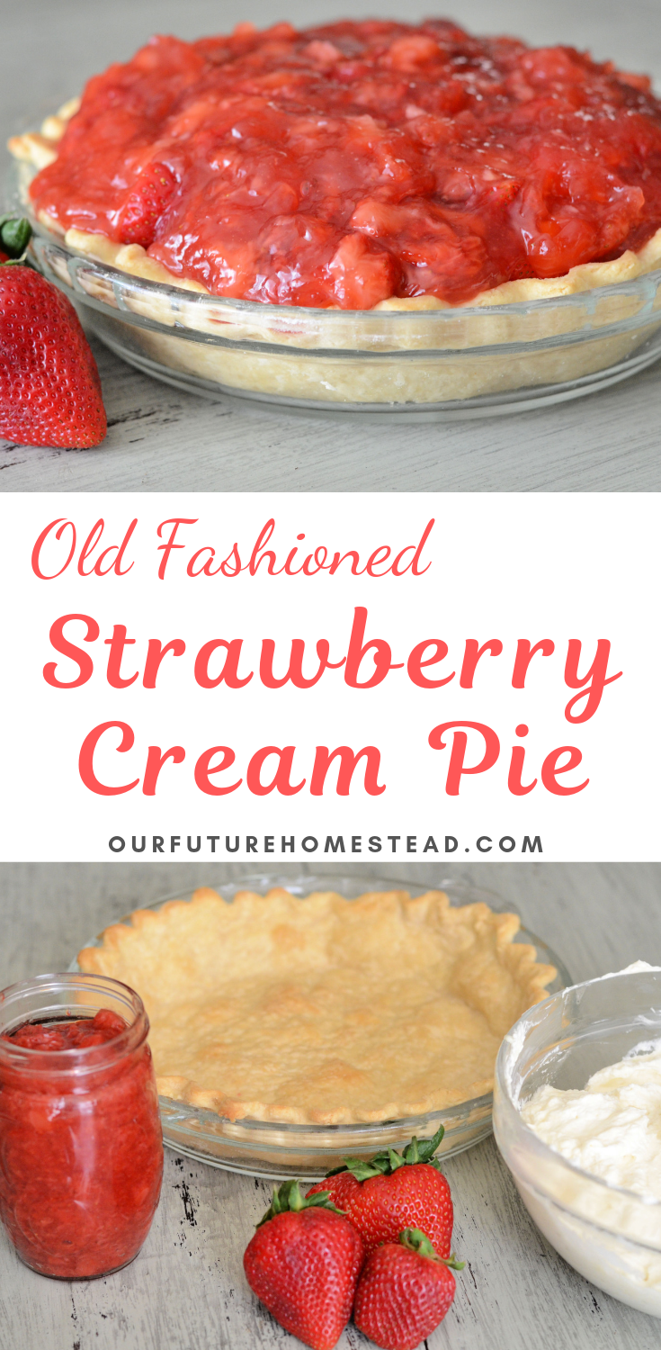 Find some farm fresh strawberries and make this old