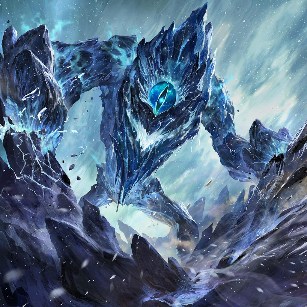 Cryofiend Creature concept art