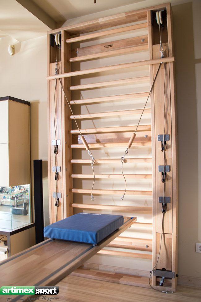 肋木 壁メーカー Artimex Sport 肋木 ろくぼく 木製の壁のバー