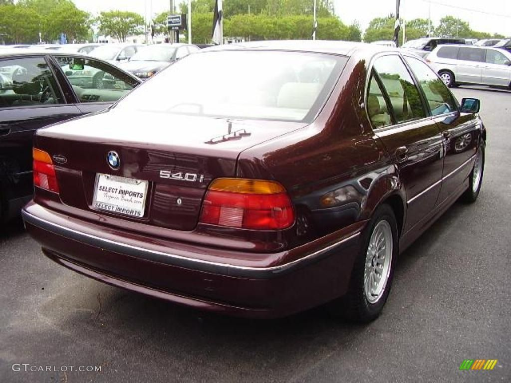 1997 Bmw Colors 1997 Bmw 5 Series 540i Sedan Aubergine Color