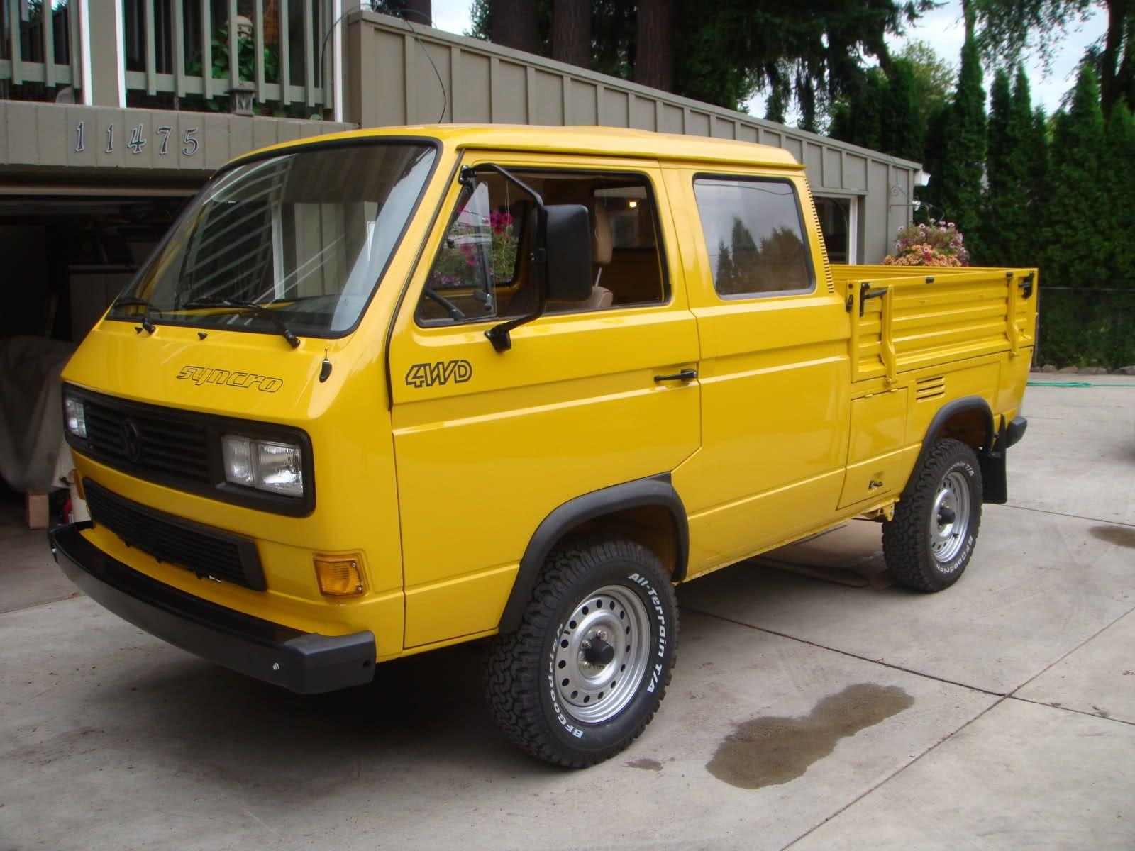 bamboo yellow syncro doka vw vanagon volkswagen vw. Black Bedroom Furniture Sets. Home Design Ideas