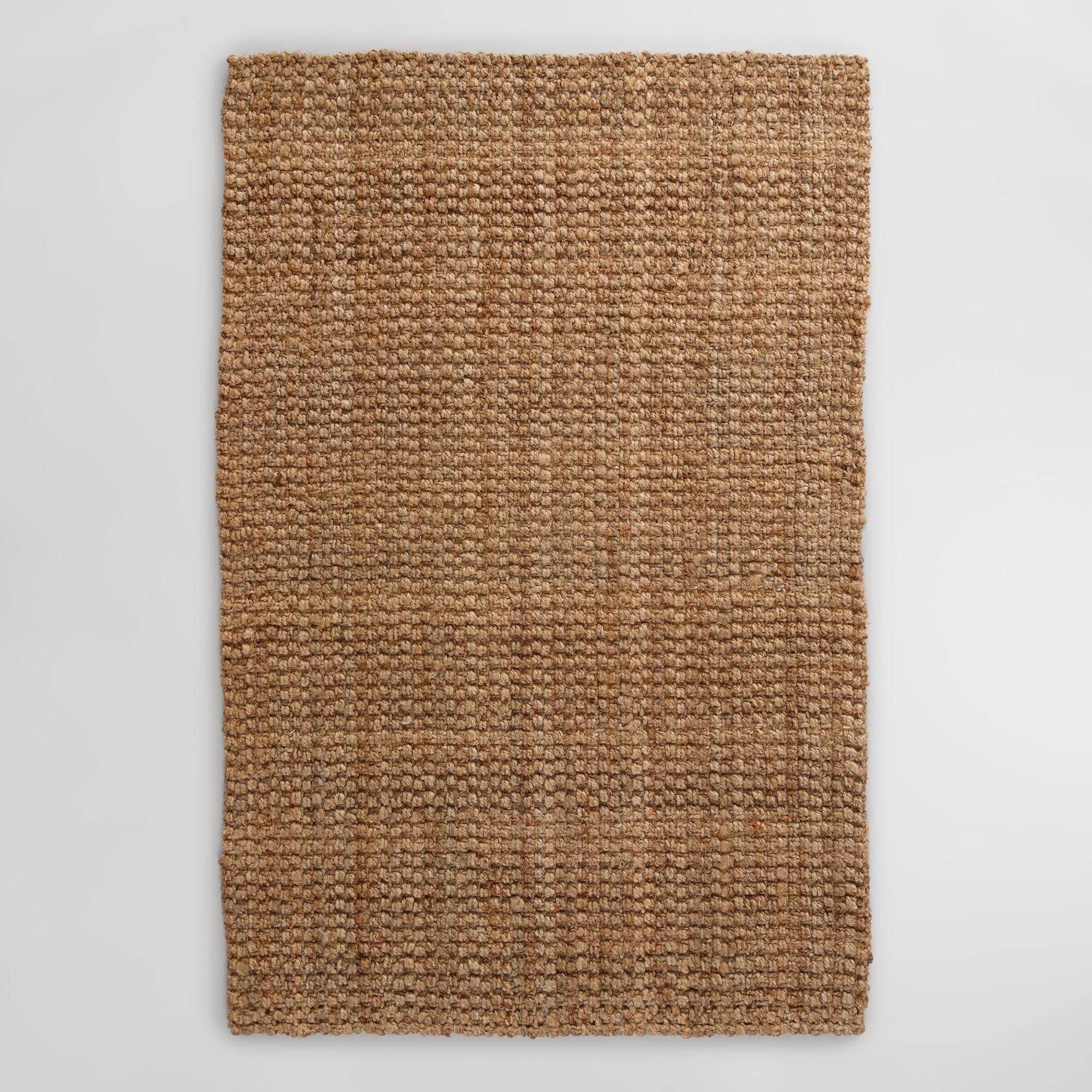Natural Basket Weave Jute Rug With Images Jute Rug Rug World