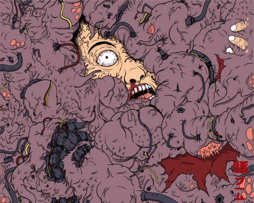 Uncontrollable | Akira Inspired Tetsuo Mutation