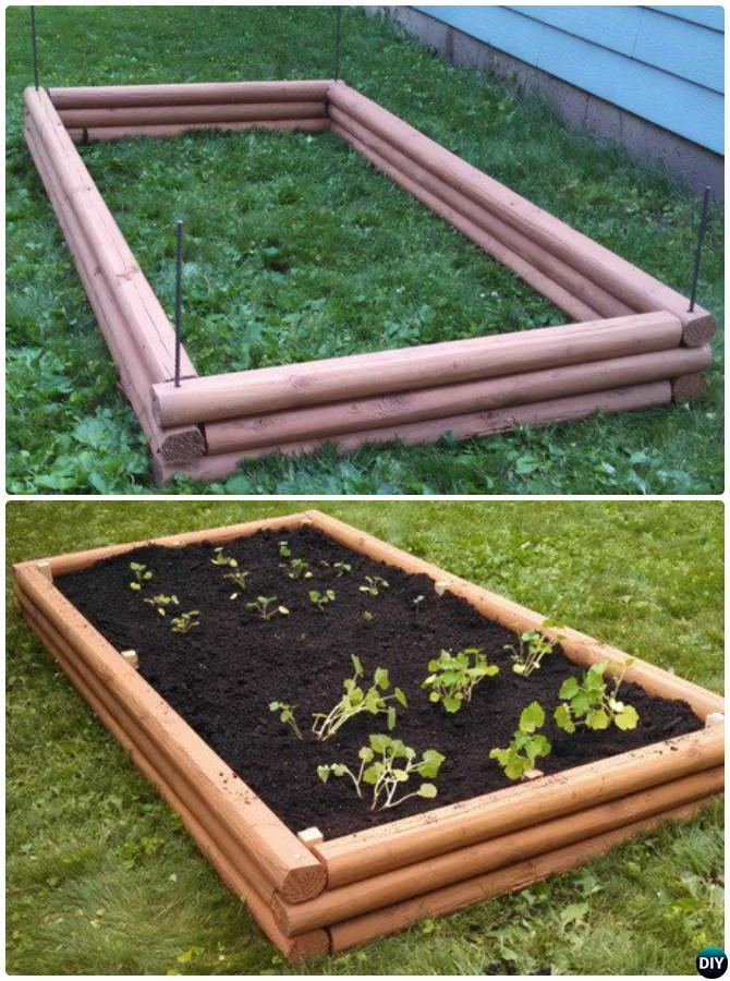 20+ DIY Raised Garden Bed Ideas Instructions [Free Plans] is part of Raised garden beds diy, Diy raised garden, Garden landscaping diy, Vegetable garden raised beds, Raised garden, Building a raised garden - More than 20 DIY Raised Garden Bed Ideas Instructions [Free Plans] from Cinder block garden bed to wood garden bed and garden tower!