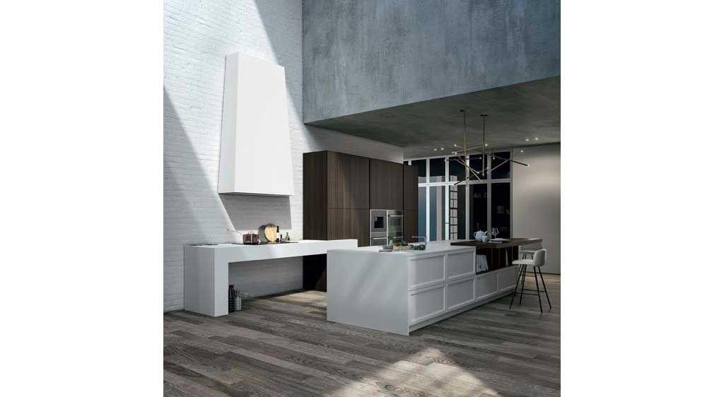 Vogue è una cucina in stile classico contemporaneo con anta a ...