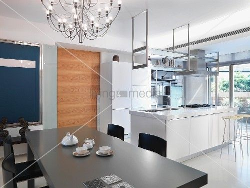 Hängeregal kücheninsel  Bildergebnis für küche hängeregal decke | home <3 | Pinterest ...