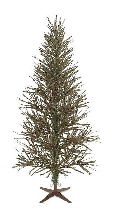 7 Foot Primitive Country Christmas German Twig Skinny Tree