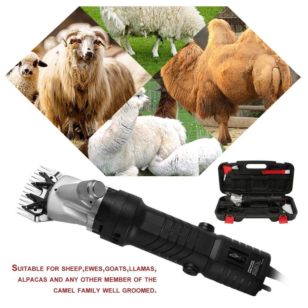 Electric Sheep Shears with Sharp Blades Goat Clippers