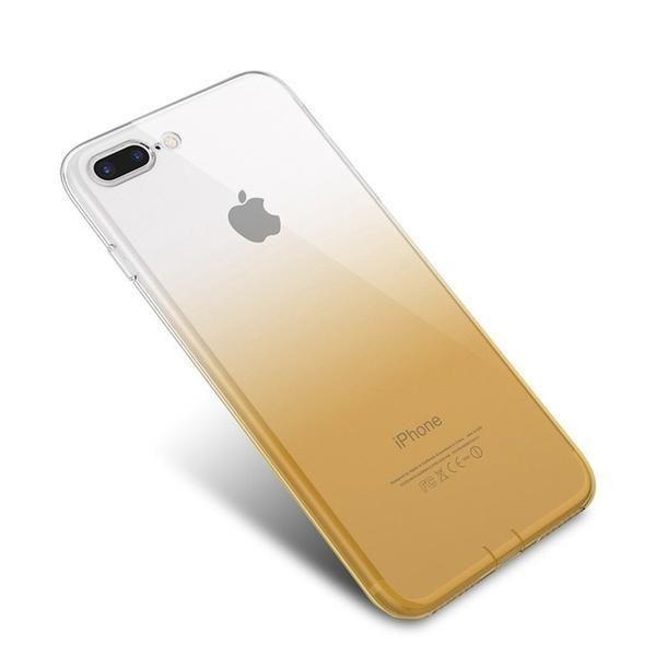 coque iphone xr slim jaune