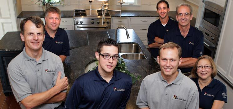 Our remodeling team