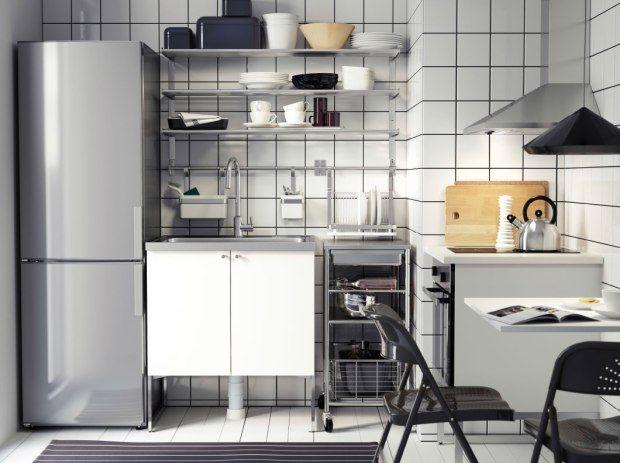 Amueblar La Cocina De Un Piso De Estudiantes Piso De Estudiantes Decoración De Apartamentos De Alquiler Y Cocina Ikea