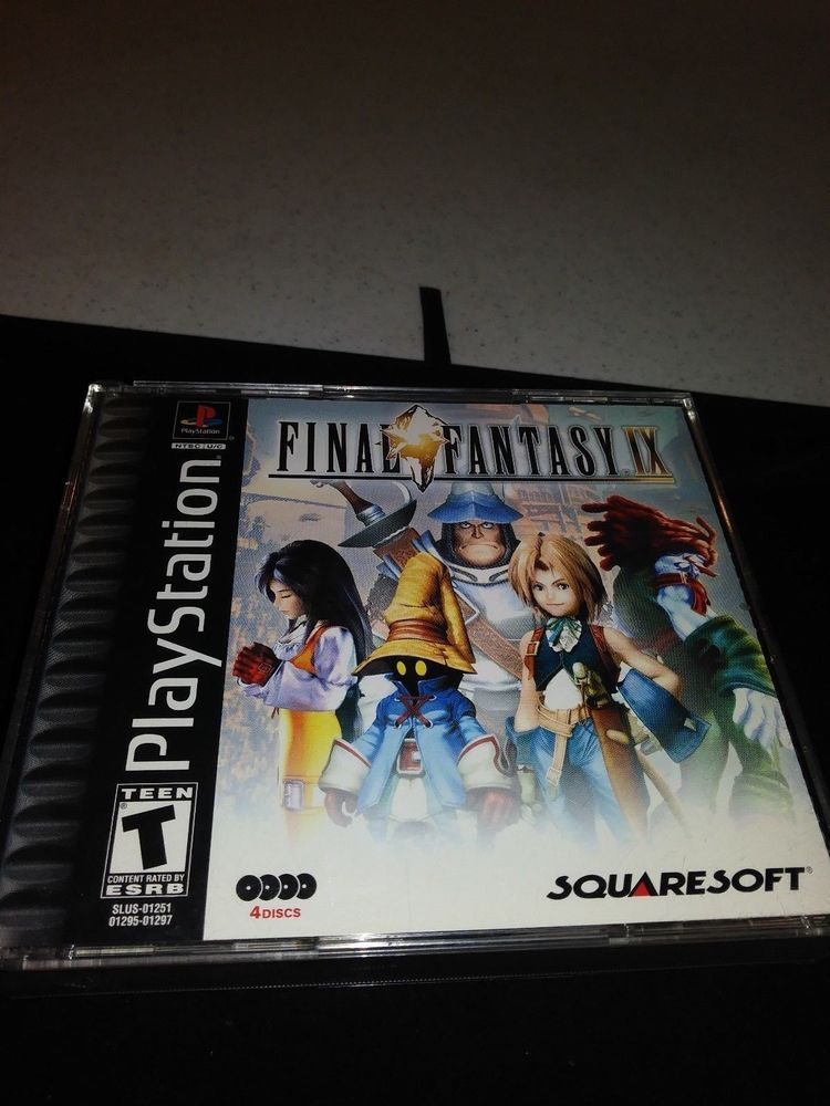 PLAYSTATION 1 FINAL FANTASY IX GAME 2000 SONY Final