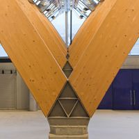 Glulam Abstraction >> Glulam And Steel Structure Google Search Wlwv Wood Columns
