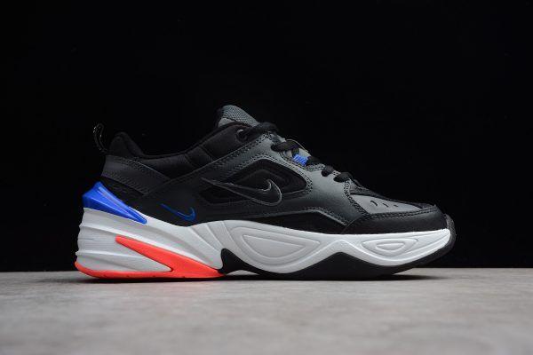 new products e7d09 31056 Nike M2K Tekno Dark Grey Black Baroque Brown Racer Blue AV4789-003-5
